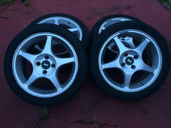 Wheels and Tires 4x108 SVT Ford Focus for Sale in Norfolk, VA - OfferUp