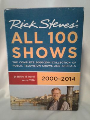 Rick Steve's Travel DVD's All 100 Shows for Sale in Crosby, TX