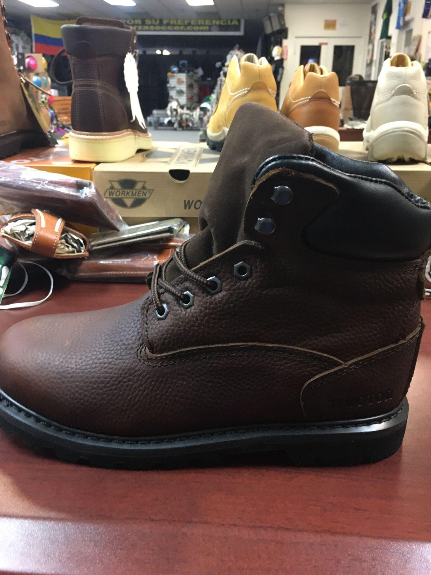 Zapato de piel para el trabajo color café