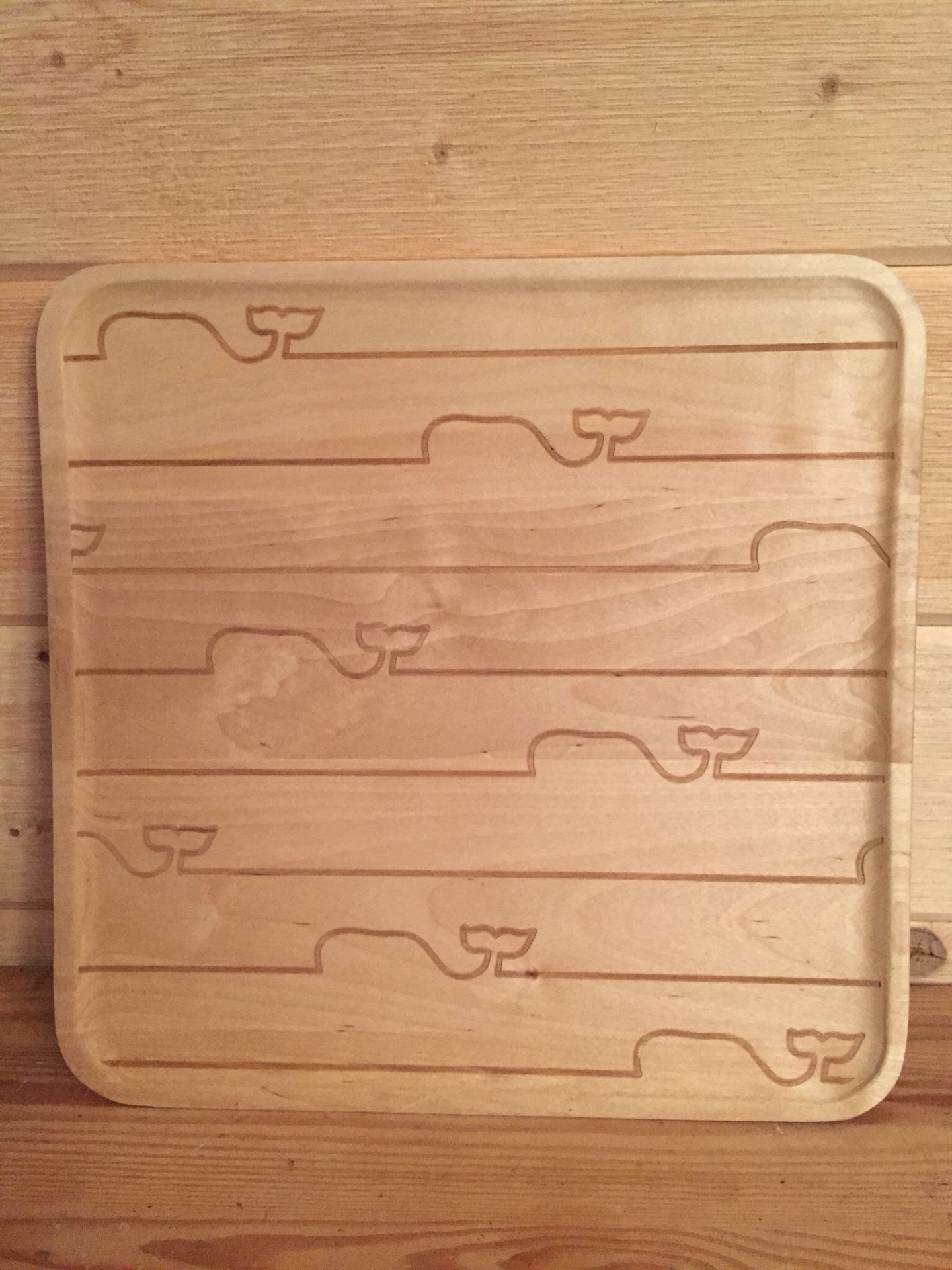 🐳 Serving Tray-Maple
