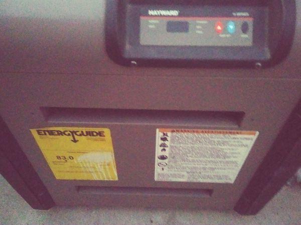 Hayword Propane Gas Pool Heater For Sale In Pico Rivera