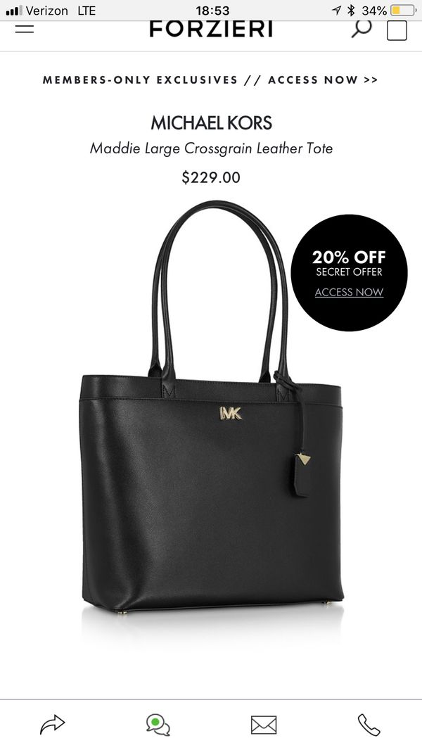 872c2b6d76cf Michael Kors tote (Jewelry   Accessories) in Cheshire