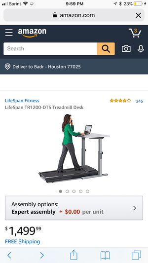 Treadmill desk for Sale in Fairfax, VA