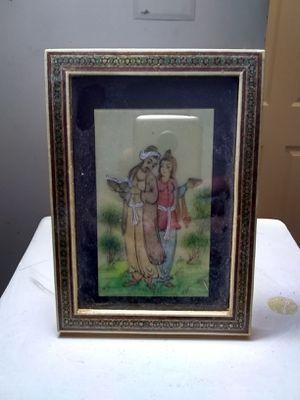 Vintage Persian Khatam Miniature Framed for Sale in Rockville, MD