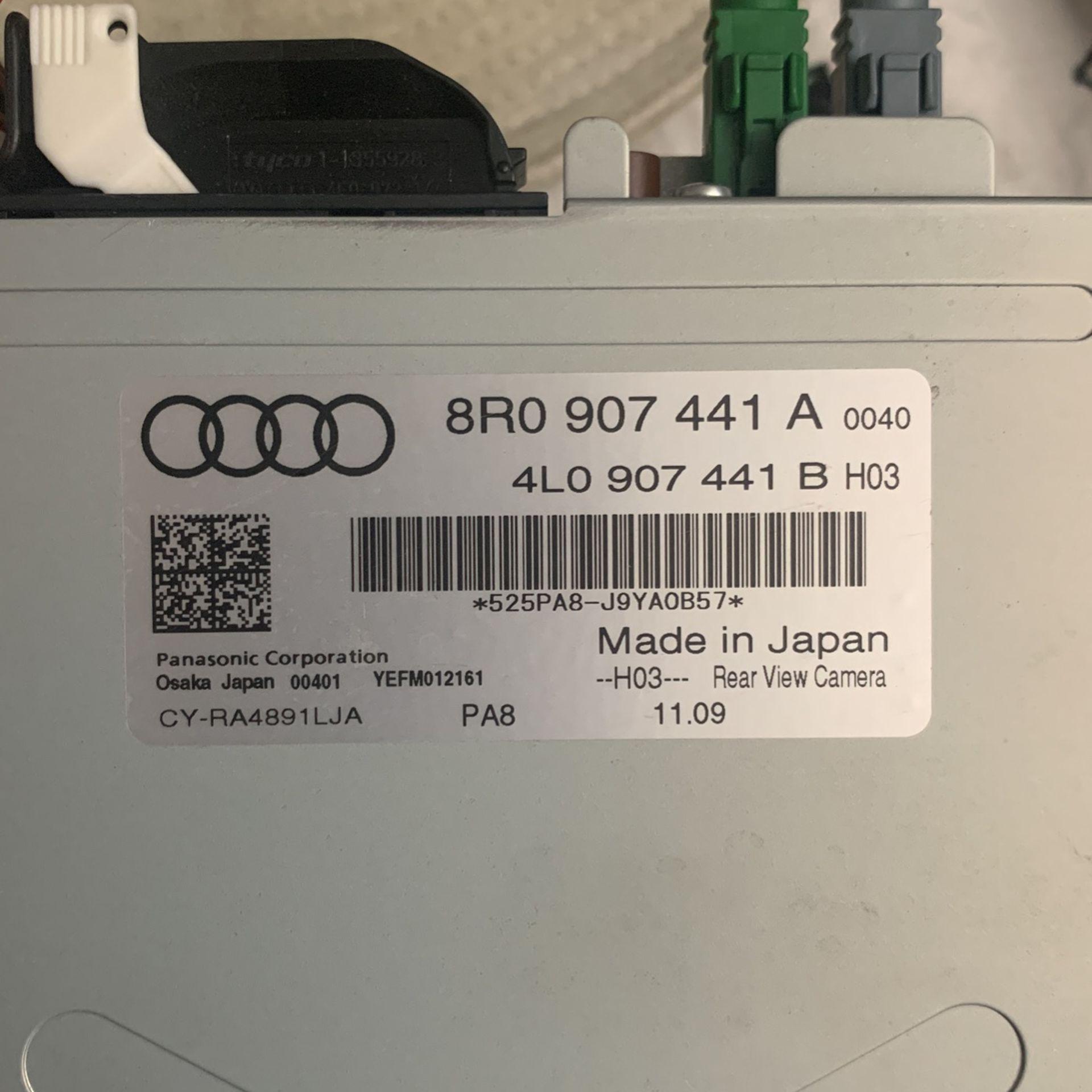 Audi Q5 Rear View Cámara And Monitor MMI