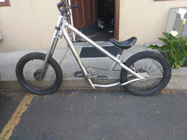 Origional West Coast Jesse James Chrome Chopper Bike For Sale In Eugene Or Offerup