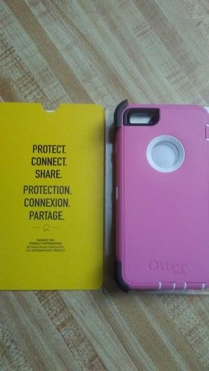 Pink Otter Box for Iphone 6s Plus for Sale in Kissimmee, FL