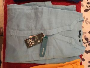 Fine Linen high quality ladies shirts/pants $45 each for Sale in Potomac, MD