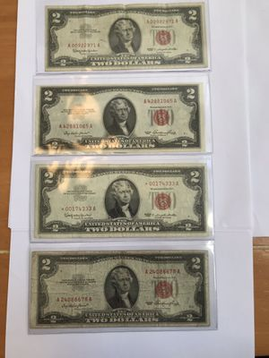 Red Seal $2's for Sale in Austin, TX