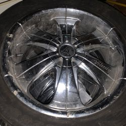 """20"""" Velocity Rims With Tires Thumbnail"""