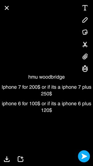 looking for iphone 7 or iphone 6 or iphone 8 for Sale in Woodbridge, VA
