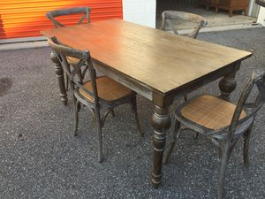 Dinning table plus 4 chairs for Sale in Germantown, MD