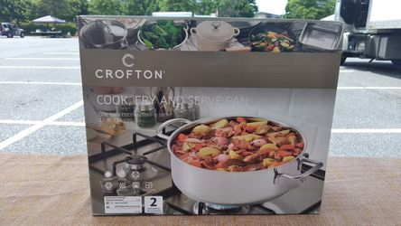 11 in Cook, Fry, and Serve Pan - Crofton Thumbnail