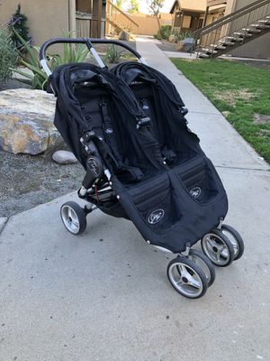 City Mini Double Stroller W Car Seat Adapter For Sale In Ramona CA