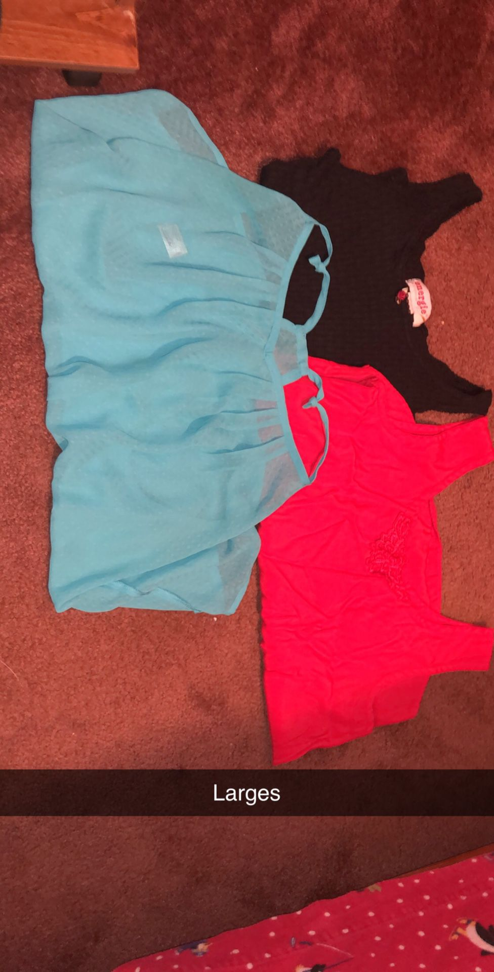 Tank tops and crop tops