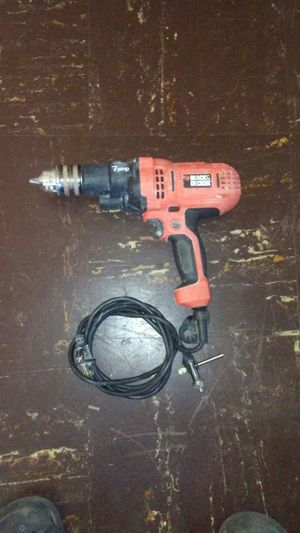 Black & Decker Drill. 7 amp 1/2in for Sale in Silver Spring, MD