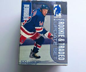 1999 Be A Player Rookie Memorabilia & Traded Update Hockey Factory Set 100C for Sale in Annandale, VA