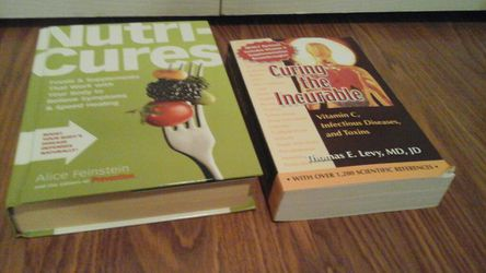 Health &Remedies Nutri Cures & Curing the Incurable Books $8.00 Thumbnail