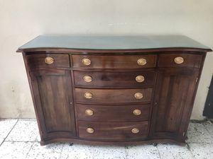 Credenza Con Tope De Marmol : Juego de muebles antiguos for sale in cayey pr offerup