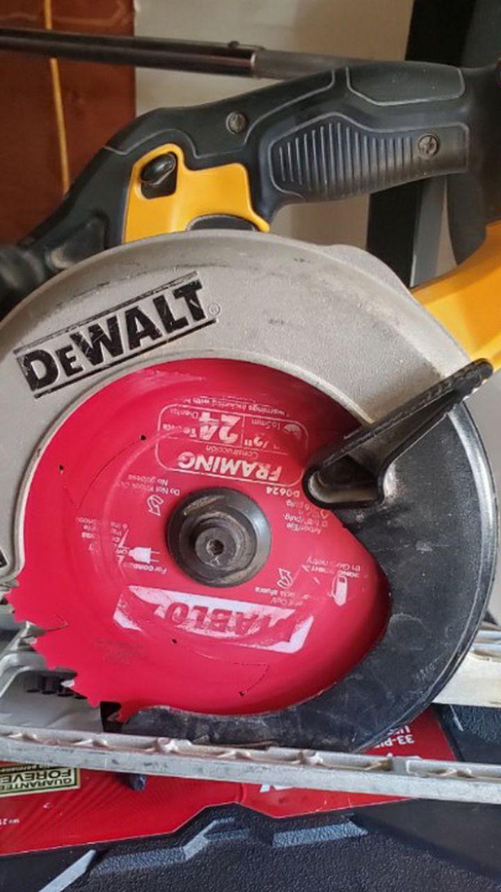 Dewalt 20v Circular saw $75