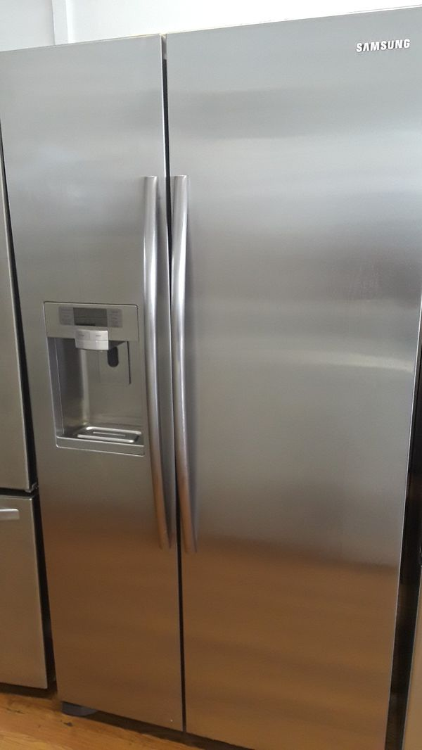 Samsung Side By Side Stainless Steel Fridge For Sale In Santa Ana