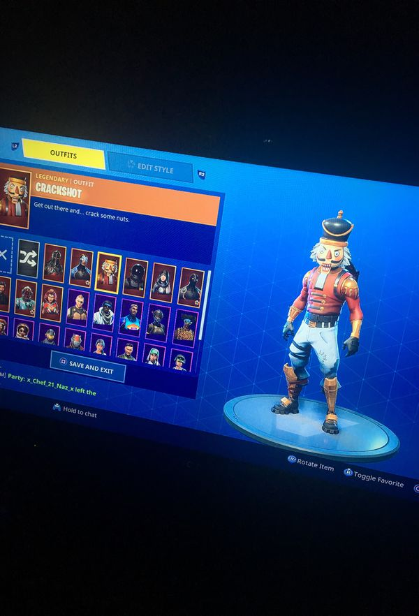 My Fortnite Account