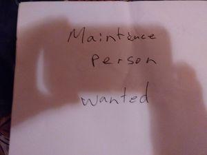 Maintenance person for Sale in Nashville, TN