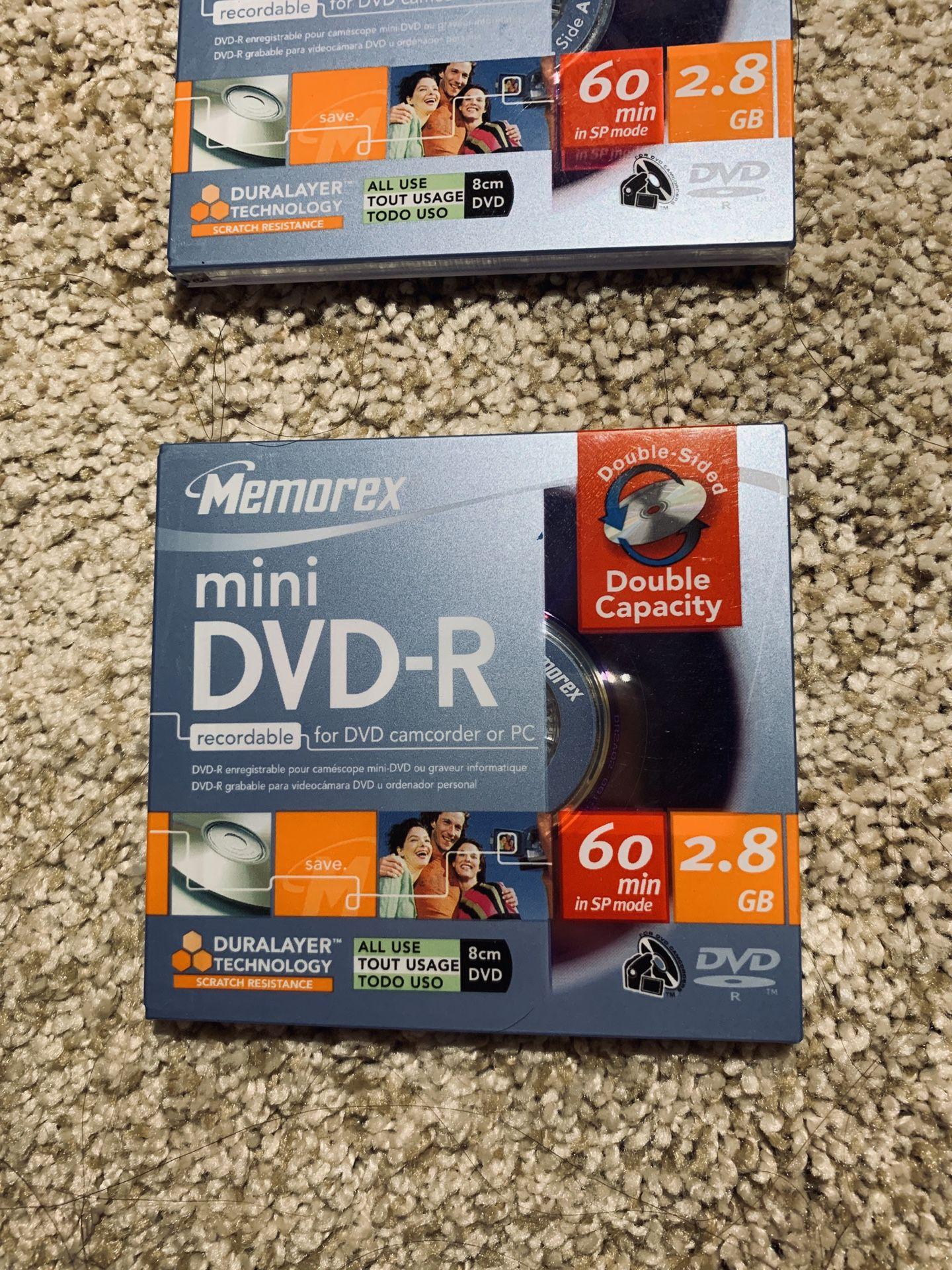 Memorex Mini DVD-R Recordable