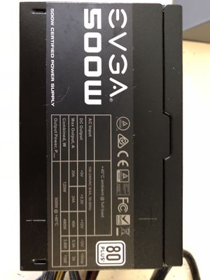 EVGA 500w ATX power supply for Sale in Tampa, FL