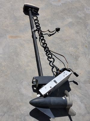 Photo Minn Kota 55 Lb Thrust Electric Trolling Motor. I don't know anything about it... Address: 6105 S Fort Apache Rd,89148. Pickup only.