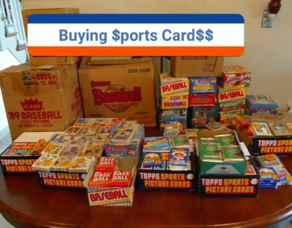 Buying Baseball Cards And Sports Memorabilia Collections For Sale In Plainfield Nj Offerup