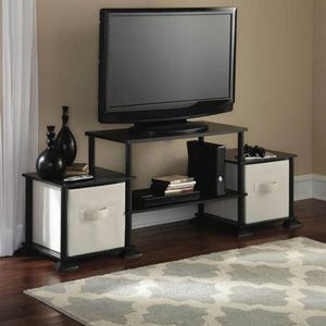 "Mainstays No-Tool Assembly 3-Cube Entertainment Center for TVs up to 40"" for Sale in Houston, TX"