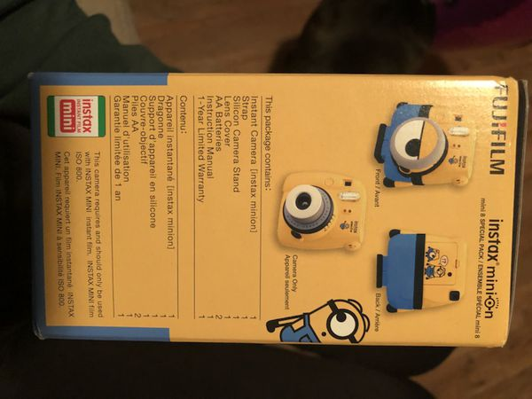 Minion Camera App : Instax minion special pack polaroid camera for sale in sacramento