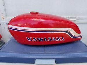 Photo Kawasaki gas tank
