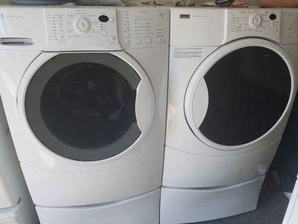 Ge Appliance Warranty >> Kenmore Elite he4 Washer And Gas Dryer Set for Sale in ...