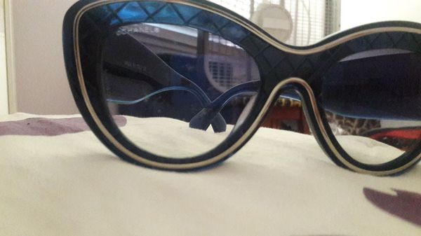 a6cb4e1496fd $400.00 Authentic Chanel cat eye sunglasses for Sale in Los Angeles ...