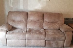 RECLINING SOFA AND LOVE SEAT for Sale in Twinsburg, OH