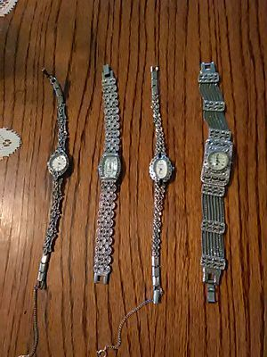 Marcicite watches. Need batteries. for Sale in Barryton, MI
