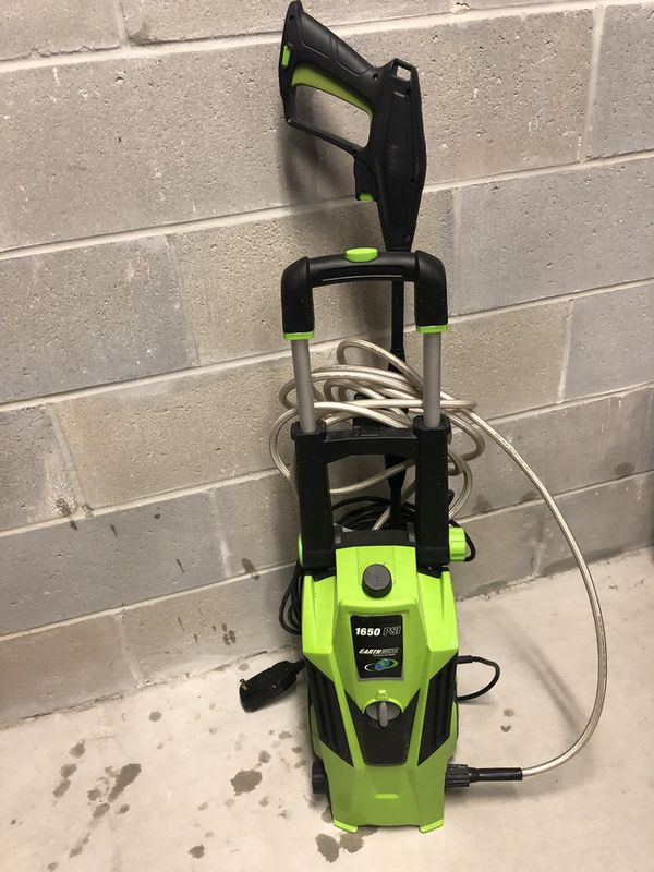 Earth Wise Pressure Washer 1650 Psi