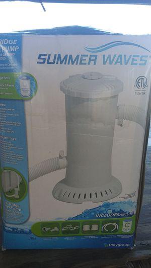 Summer waves pool filter for Sale in Jacksonville, FL