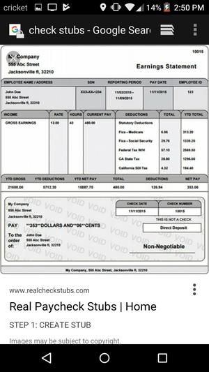 Check stubs for Sale in Atlanta, GA
