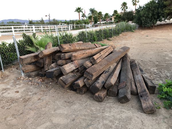 Railroad ties for Sale in Hemet, CA - OfferUp
