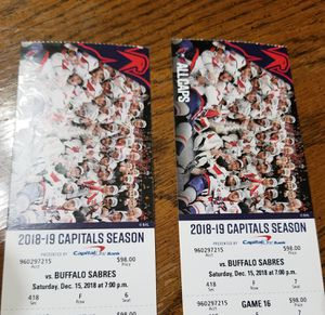 Captial Season Tickets for Sale in Falls Church, VA