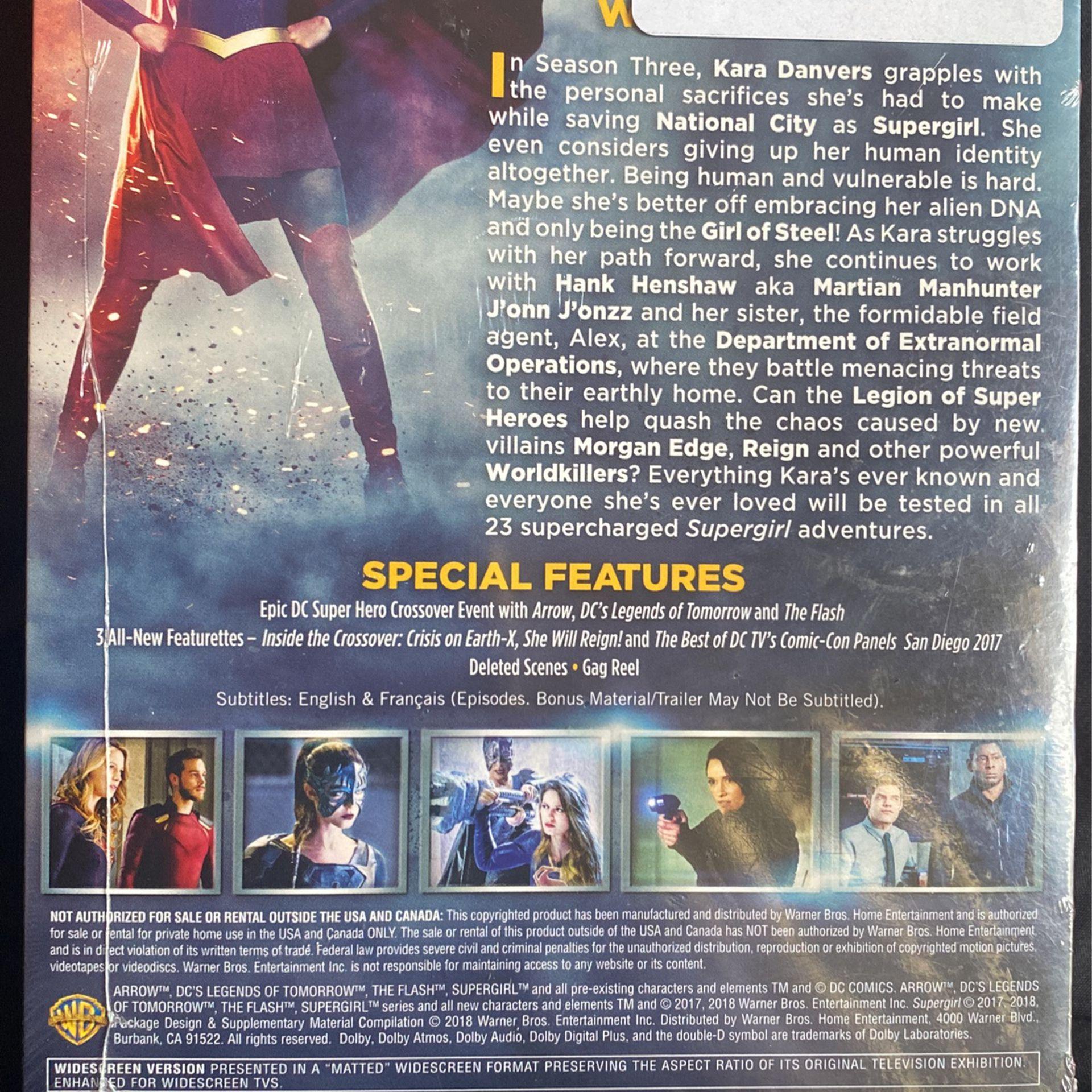 DC Supergirl Complete 3rd Season