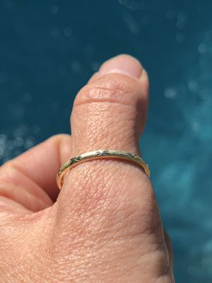 LAST ONE!!! 10k yellow Gold Thumb/Engagement/Wedding Ring Size 10 For good luck for Sale in Miami, FL