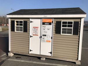 8x12 Vinyl Sided Classic Sheds USA Shed For Sale In Reading PA
