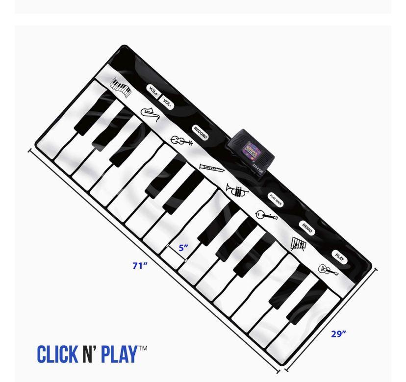 Click N' Play Gigantic Keyboard Play Mat