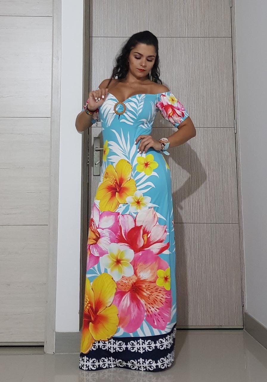 Colombian dresses