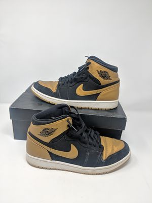 8acd45ffa04f7a Air Jordan 1 One Melo men s size 10.5 Gold Black Retro for Sale in Duluth