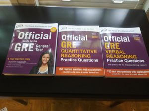 GRE Official Study Pack for Sale in Arlington, VA